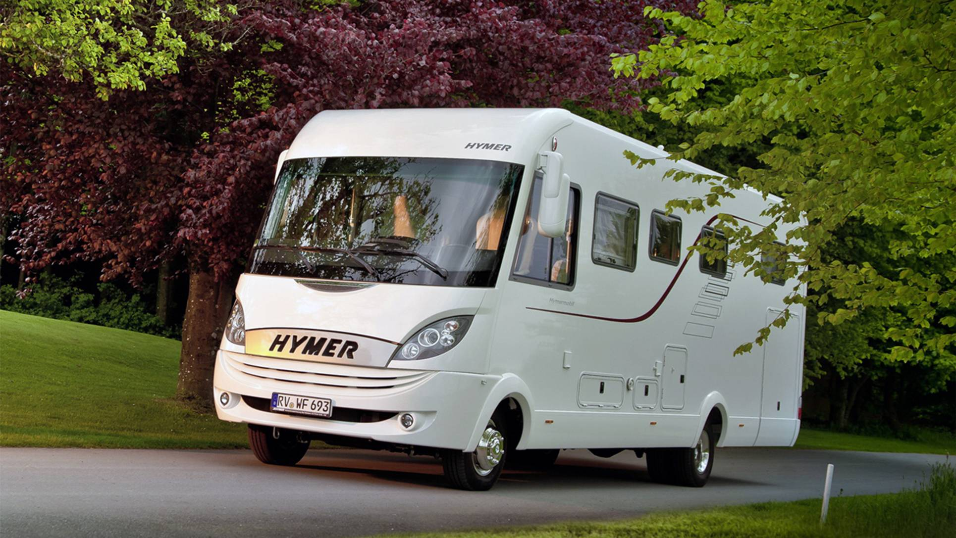 Hymer Liner MJ-09 weiss FP 01
