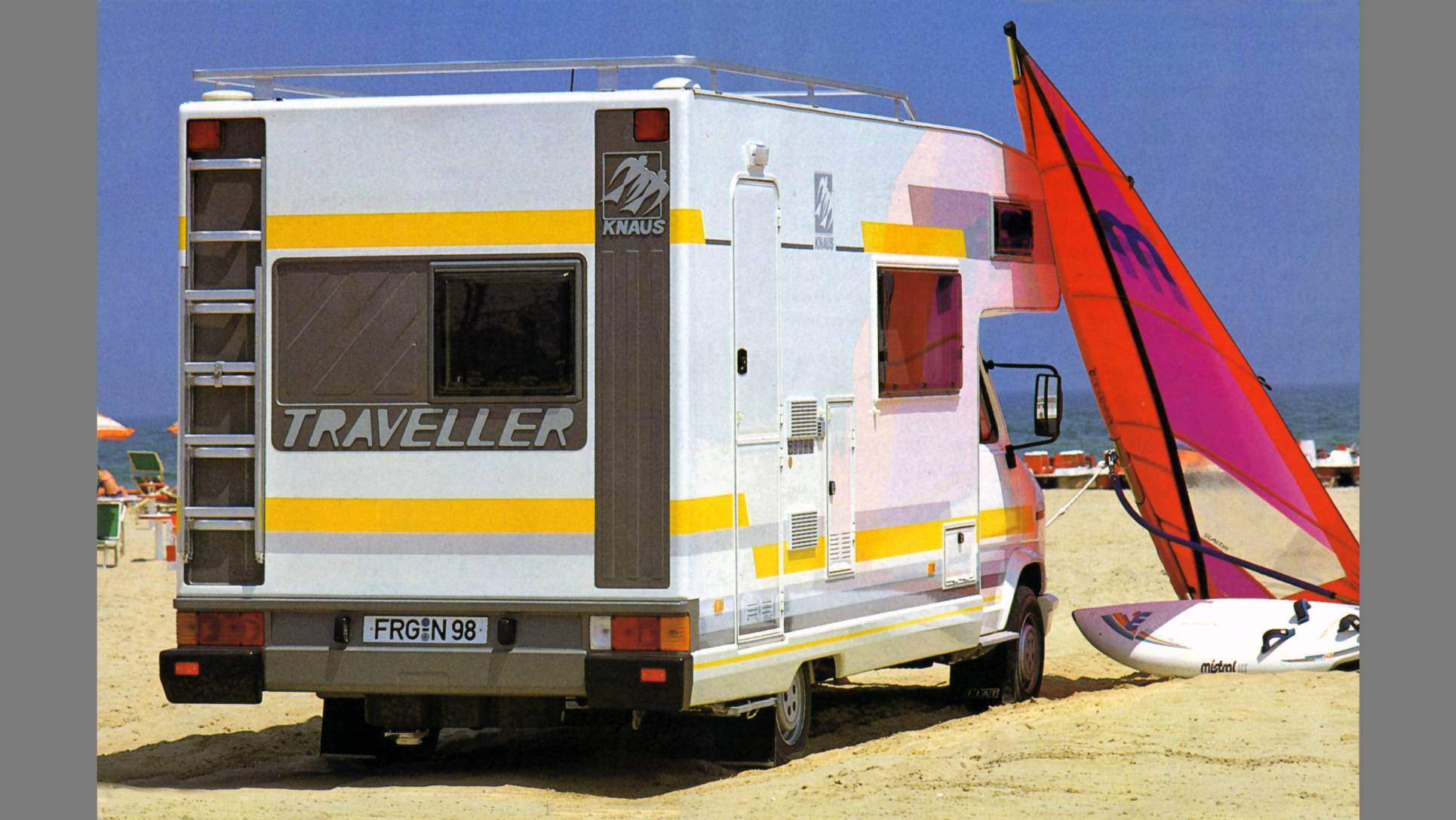 KNAUS Traveller MJ-1986 HP 01